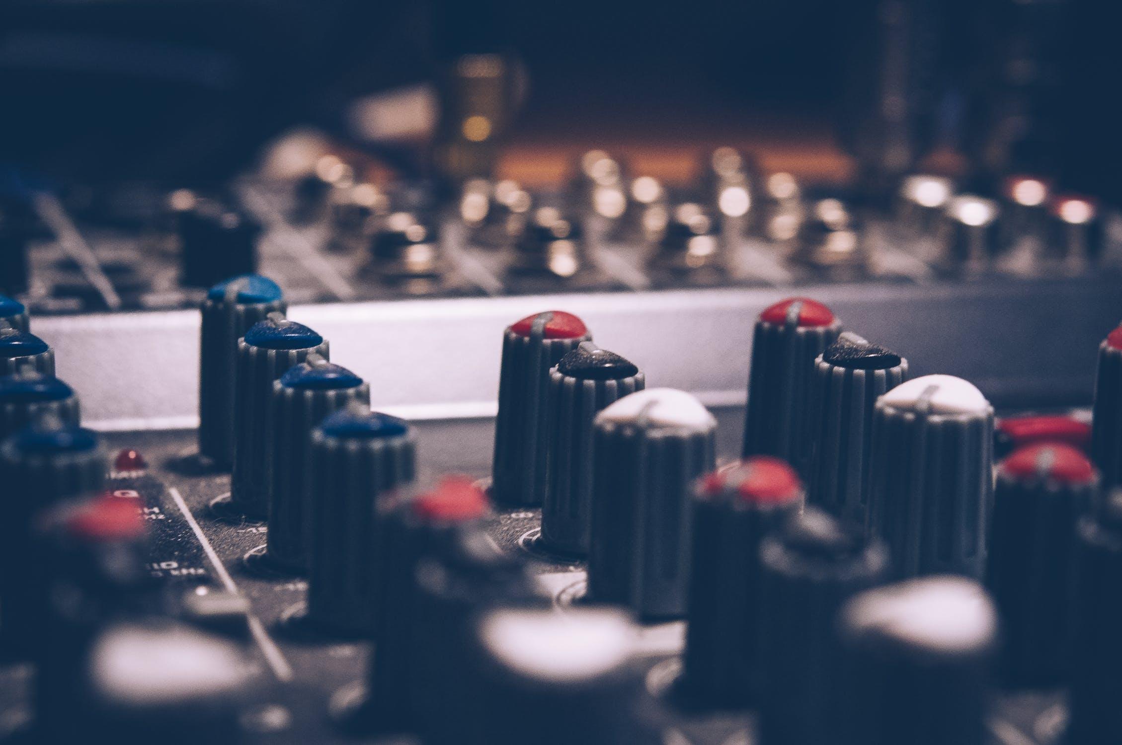 Ett mixerbord för musiker